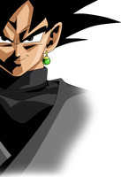 Goku Black v8 by SaoDVD