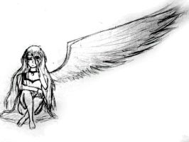 A fallen Angel by tachana24