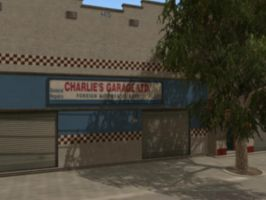 Charlie s garage by maximartiskosmo