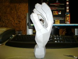 Papercraft Master Hand 2 by Esteban1988