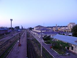 Pascani rail station by ranger2011