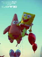 Sponge Bob and Patrick areLOVE by 6igella