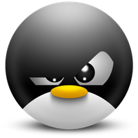Mad Penguin by rstreeter
