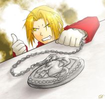 Watch me - FMA by rubyd