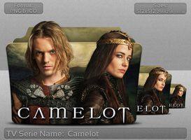 Camelot - Tv Serie Folder Icon by atty12