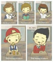 Time for school with one direction by Falloutdaylenne