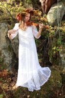 Fairy of autumn by Hudojnica