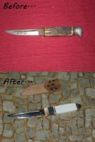 Rescued Knife No.2 by boogerscat1