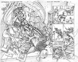 Nightwing8 pp10-11 sample pencils by Jebriodo