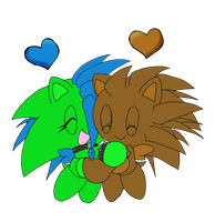 Chao Love:. by Crystalhedgie