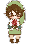 Fluffy Link Sticker By Momokyarameru by fluffylink
