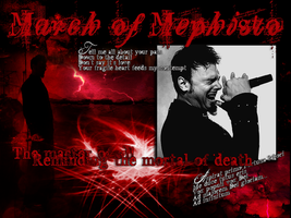 March Of Mephisto Wallpaper by xandra73