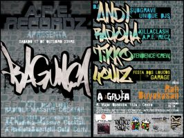 BAGUNCA FLYER by 163chorao163