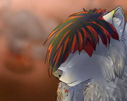 arttrade - Wrath by DarkWolves-of-flames