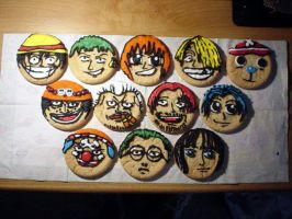 One Piece Cookies by samanthapr