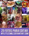 +Pack 25 fotos para editar by MyLittleSmile