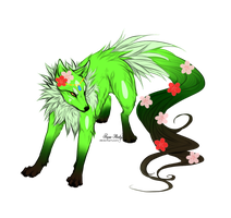 Nature Wolf :CLOSED: by PilusAdopts