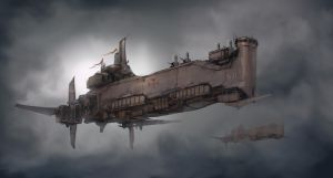 Crusade Battleship by ProgV