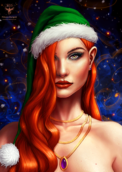 Princess Marigold Xmas Edition by amorphisss