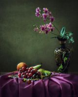 From the series with orchids by Daykiney