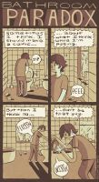 Bathroom Paradox by MumblingIdiot