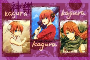 GINTAMA-Kagura x 3!- Gift for Iiluk by Gin-Uzumaki