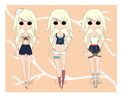 .:Custom:. Renisai by curled-mustache