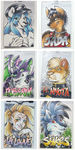 Conbadges from 2015 - part01 by dizziness