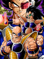 unstoppable trio of warriors by BK-81