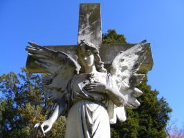 Autumn Cemetery 44 by DKD-Stock