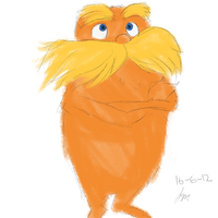 The Lorax by franceeisbest