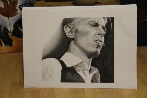 David Bowie #2 by mephistofee