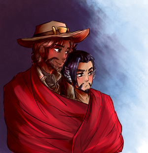 Overwatch - McHanzo by akkame