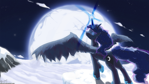 Thy Princess of the Night by AllisZero