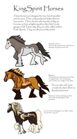 Xedralkana: KingSpirit Horses Breed Sheet by Asoq