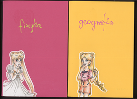 My notebooks covers by Annorelka