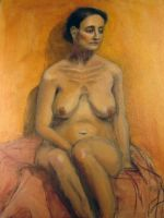 Figure Painting 1 by GlobeyM7
