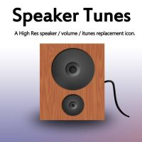 Speaker Tunes Icon by johnamann