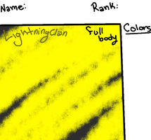 Lightningclan Blank Ref by Snowflame132