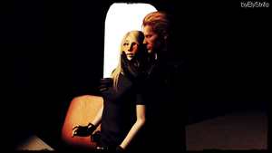 Buria x Wesker : He can't wait... by ElyStrife
