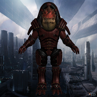 Urdnot Wrex For XNALara by Melllin