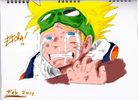 young naruto colour by Etchu