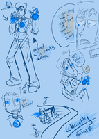 PORTAL 2 Wheatley DUMP by ilovezimandgir123