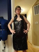 Mass Effect 2 - Commander Shepard Casual Dress WIP by Cosplay4UsAll