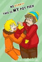 NO. KENNY. THIS IS MY POT PIE. by Spunky-Sora
