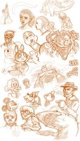 Really Stupid Sketches Aug. 2 by lord-phillock