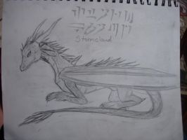 The last Draconian: Stormcloud by XTheAlphaPackX