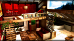 Modern Apartment - MMD stage DL by chococat9001