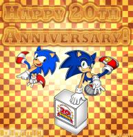 Sonic 20th Anniversary by TwisterTH