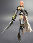 Lightning figure by Agacross